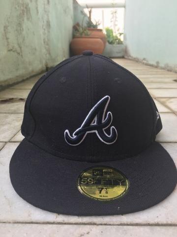 Boné New Era Original - Atlanta Braves - Bijouterias e28cad69c7e