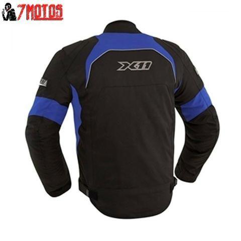Jaqueta X11 One Preto Azul - Peças e acessórios - Jardim Colorado ... 95ec0d4cb2275