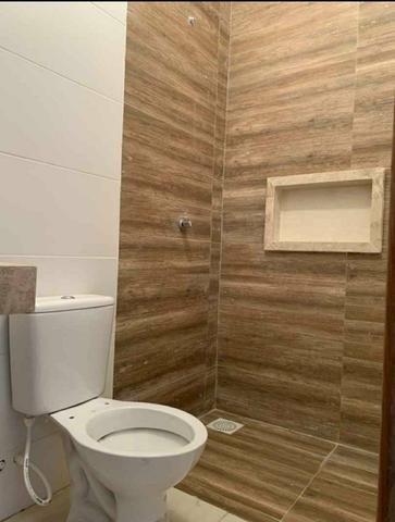 Casa 2 quartos, linda!! Acabamento alto padrão, Sala com pé direito duplo - Foto 6