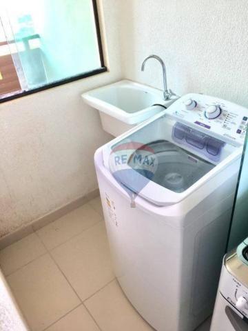Apartamento com 2 dormitórios à venda, 52 m² por r$ 239.990,00 - ponta negra - natal/rn - Foto 11