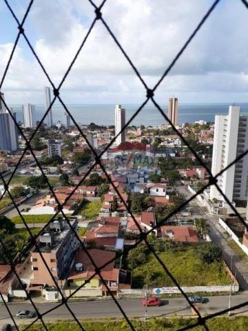 Apartamento com 3 dormitórios à venda, 99 m² por r$ 350.000,00 - ponta negra - natal/rn - Foto 2