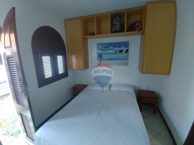 Flat estilo casa duplex com 2 dormitórios à venda, 57 m² por r$ 185.000 - ponta negra - na - Foto 16