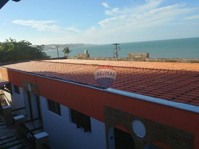 Flat estilo casa duplex com 2 dormitórios à venda, 57 m² por r$ 185.000 - ponta negra - na - Foto 17