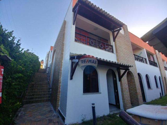 Flat estilo casa duplex com 2 dormitórios à venda, 57 m² por r$ 185.000 - ponta negra - na - Foto 3