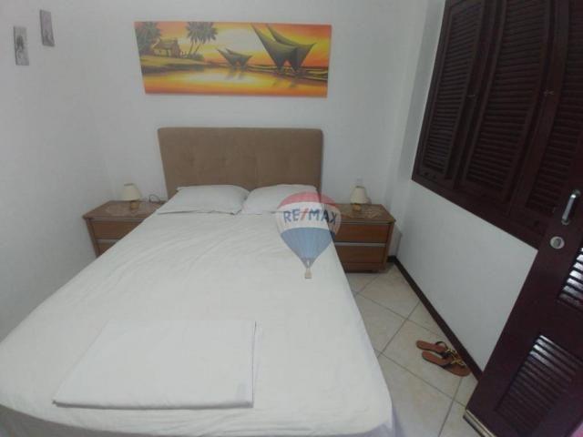 Flat estilo casa duplex com 2 dormitórios à venda, 57 m² por r$ 185.000 - ponta negra - na - Foto 11