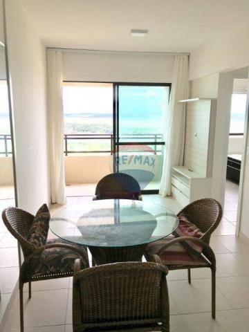 Apartamento com 2 dormitórios à venda, 52 m² por r$ 239.990,00 - ponta negra - natal/rn - Foto 2
