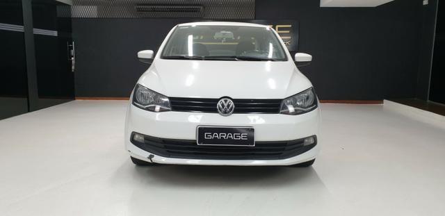 Vw-Volkswagen Novo Voyage GNV 1.6 Flex 2014/14 - Foto 6