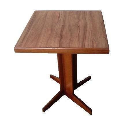 Mesas e cadeiras de madeira country - Foto 2