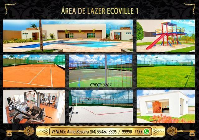 Casa no Ecoville, 3 quartos sendo 1 suíte com closet, lavabo, Etc - Foto 15