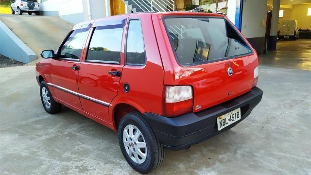FIAT UNO 2005/2006 1.0 MPI MILLE FIRE 8V FLEX 4P MANUAL - Foto 4