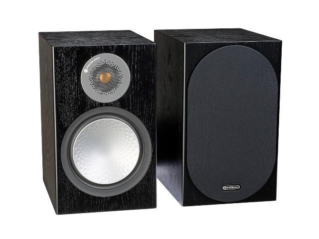 Monitor Audio Silver 100 Caixa Bookshelf 120w Preto (par)