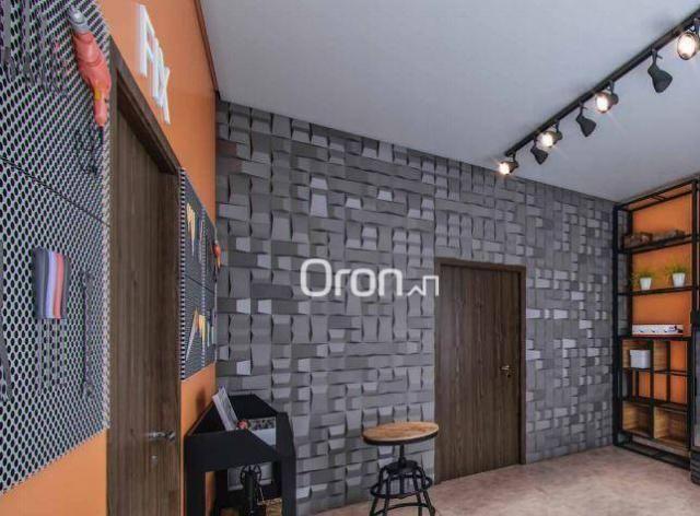 Apartamento com 2 dormitórios à venda, 71 m² por R$ 396.000,00 - Setor Marista - Goiânia/G - Foto 10