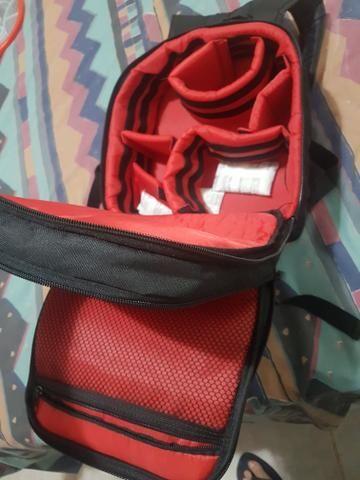 Mochila para equipamento de fotografia oferta apenas 100 reais! - Foto 3