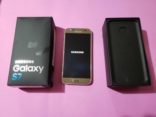 Sansung Galaxy S7 +acessórios
