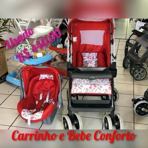 Carrinho Tutti Baby com Bebe Conforto