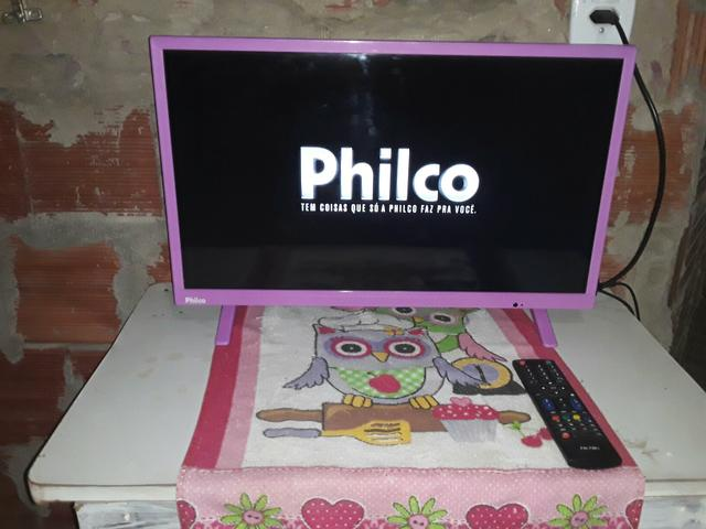 Tv ph24E30DR Led philco 24 polegadas - Foto 3