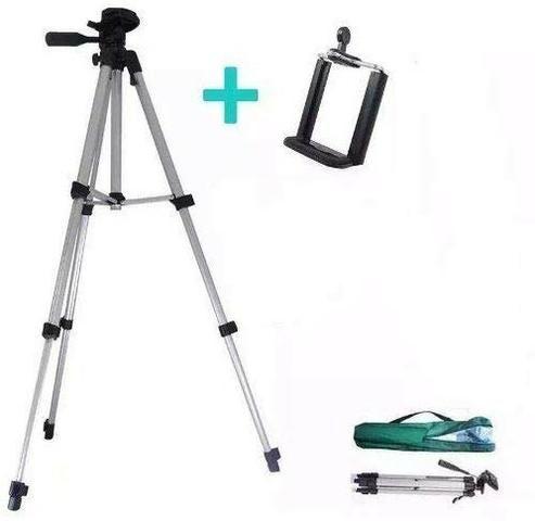 Tripé Profissional Para Celular /câmera Alumínio 1,20m