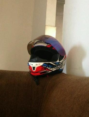 Vendo capacete helt New Race topppp - Foto 6