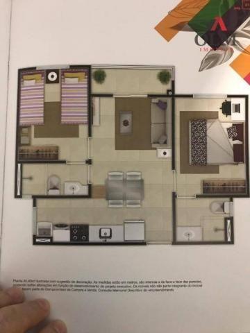 Apartamento com 2 dormitórios à venda, 48 m² por R$ 179.370 - Passaré - Fortaleza/CE - Foto 13