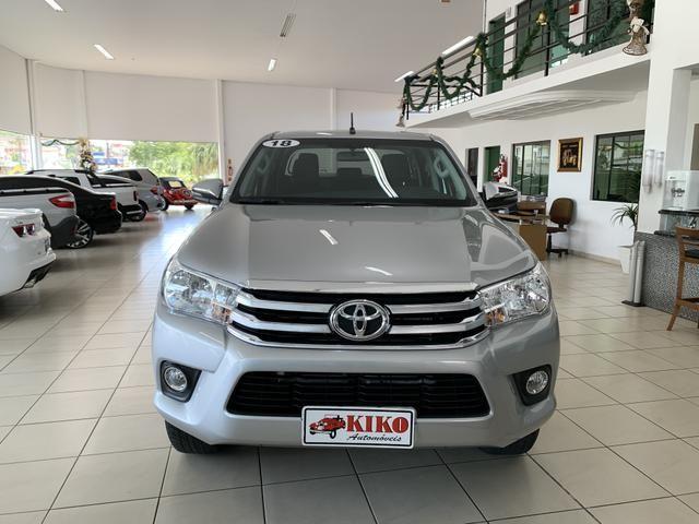 Toyota Hilux SRV CD 2.8 4x4 Automática Diesel 2018 - Foto 2