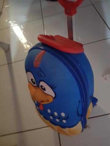 Mini mochila 3d da galinha pintadinha com lancheira - Foto 2