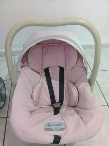 Carrinho e bebê conforto Burigotto