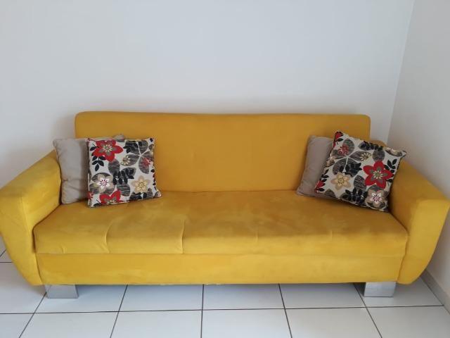 Vendo lindo sofá cama - Foto 3