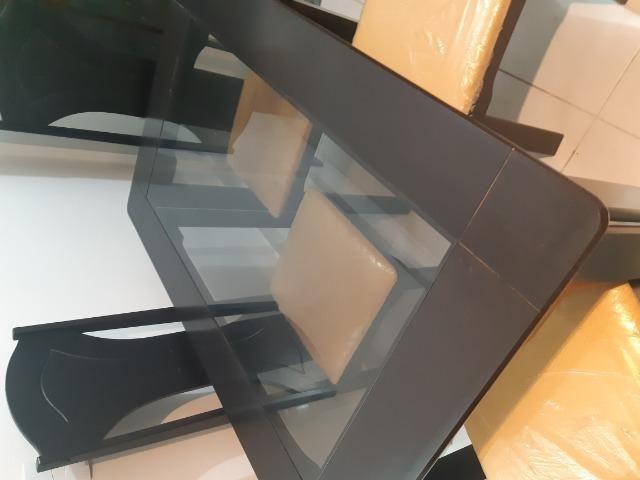 Mesa de Estar 4 cadeiras - Foto 5