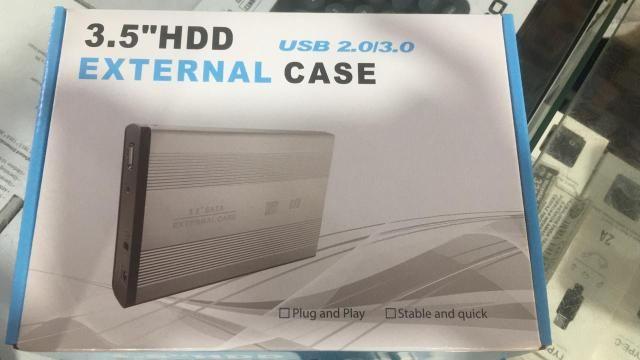 Case gaveta externa 3.5 Hd