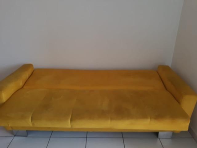 Vendo lindo sofá cama - Foto 4