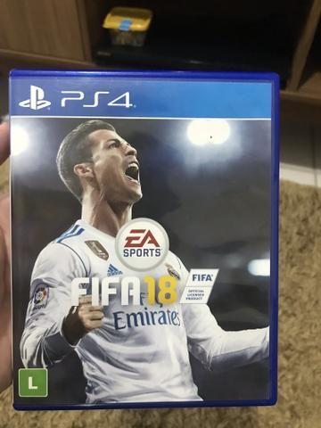 Vendo Jogo FIFA 18 Para PS4 R$45,00