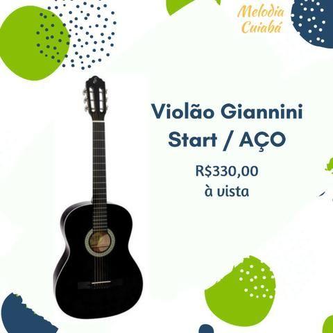 Violão Giannini Start AÇO- NOVO na caixa
