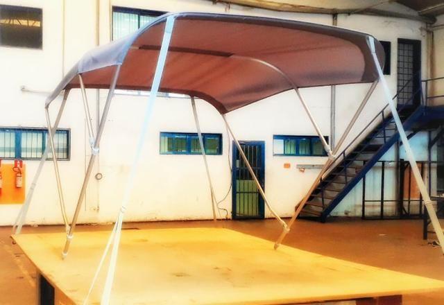 Capa Toldos capotas para barcos lanchas e jet sky - Foto 6