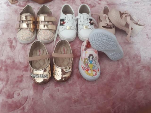 Sapato feminino infantil - Foto 3