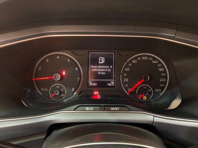 Nova VW Tcross 1.0 TSI com Somente 18.500 km rodados - Foto 7