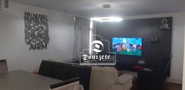 Apartamento com 4 dormitórios à venda, 118 m² por R$ 450.000,10 - Campestre - Santo André/