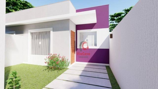 Lindas casas com 2 quartos sendo 1 auíte com terraço gourmet perto da pista !!! - Foto 9