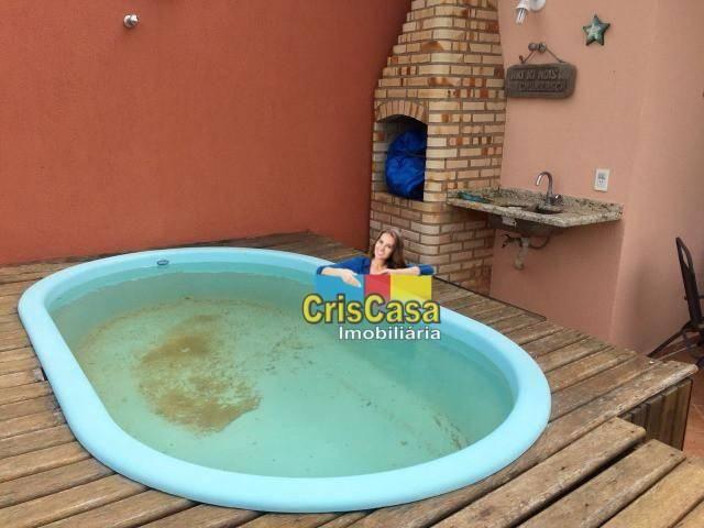 Casa com 3 dormitórios à venda, 130 m² por R$ 415.000,00 - Costazul - Rio das Ostras/RJ - Foto 15