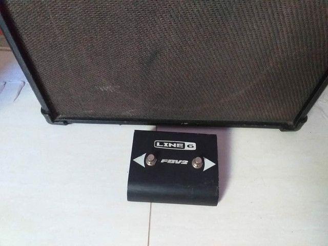 Ampli guitarra line 6 spider IV30 venda ou troca - Foto 4
