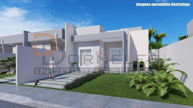 Casa recém construída no Jd. Cataratas com 2 quartos, amplo quintal - apta para financiame - Foto 14