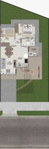 Casa recém construída no Jd. Cataratas com 2 quartos, amplo quintal - apta para financiame - Foto 13
