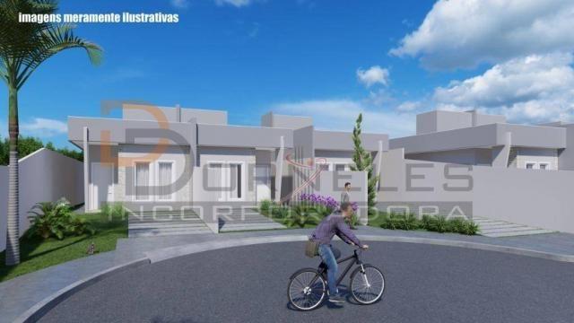 Casa recém construída no Jd. Cataratas com 2 quartos, amplo quintal - apta para financiame - Foto 8