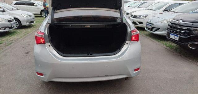 Corolla GLI 1.8 Flex/GNV. C/Entrada+48x1204 Fixas - Foto 10