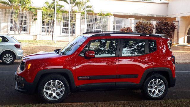 Jeep Renegade Longitude couro revisado impecável! - Foto 15