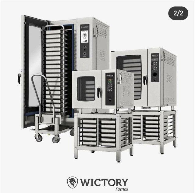 Forno combinado wictory - toda linha de forno para seu comercio