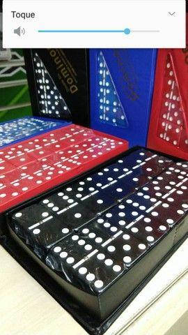 Domino do grande de osso  28 peças