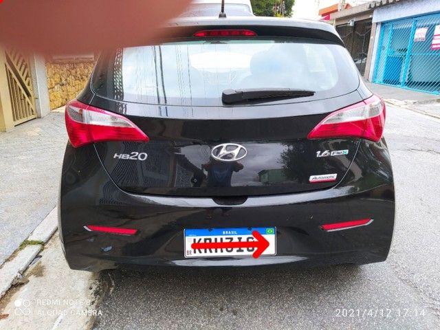 Hyundai  Hb20 Premium 1.6 Automático, Couro  2015  Ocasião !!!!!!!! - Foto 5
