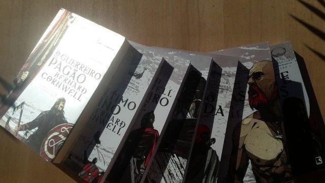 Box 6 livros crônicas saxônicas + 7° livro