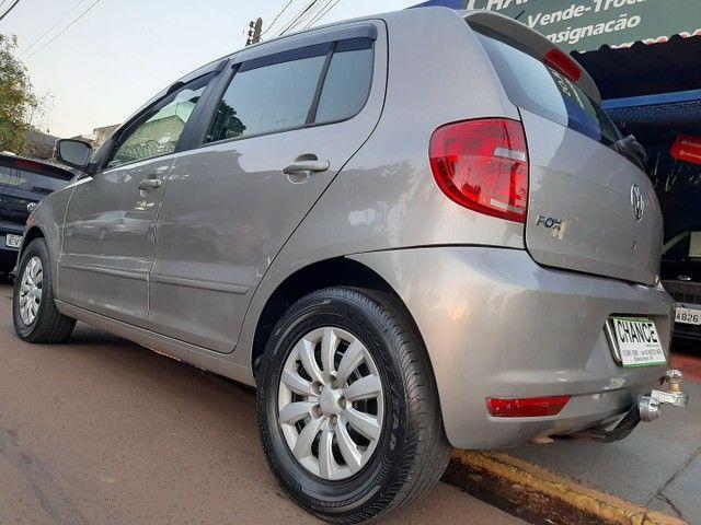 VW Fox 2013 1.0 Flex Completo Troco Carro Moto Financio - Foto 9