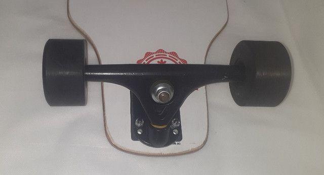 Skate longboard - Foto 4